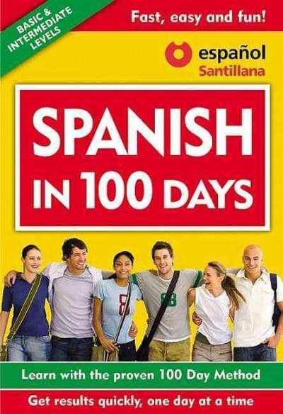 Spanish in 100 Days (Paperback)