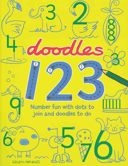 Doodles 123 (Paperback)