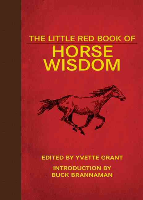 The Little Red Book of Horse Wisdom (Hardcover)