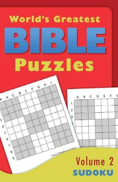 World's Greatest Bible Puzzles: Sudoku (Paperback)