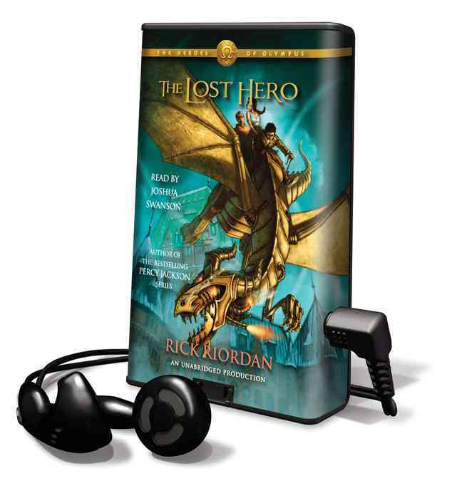 The Lost Hero: Library Edition (Pre-recorded digital audio player)