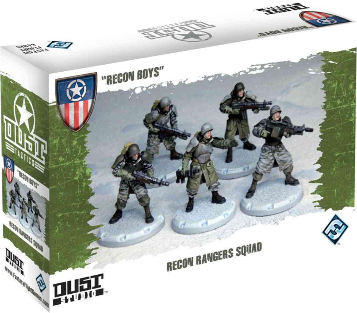 Dust Tactics: Recon Boys (Hardcover)