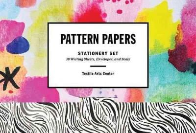 Pattern Papers: 18 Writing Sheets, Envelopes, and Seals (Cards)