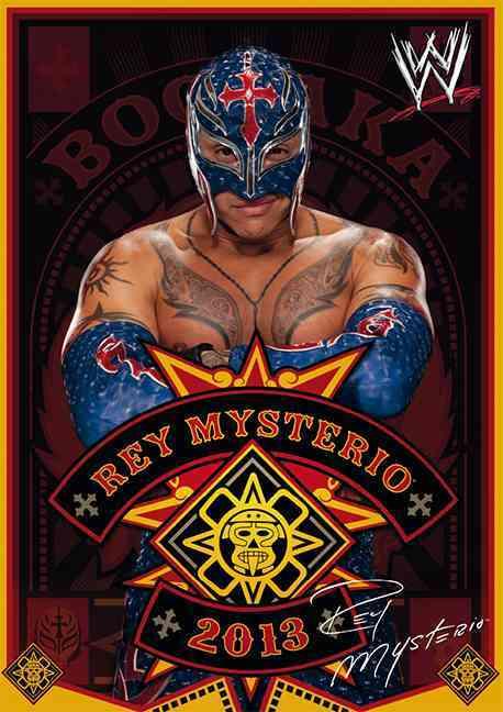 Wwe Rey Mysterio Jr. 2013 Calendar (Calendar)