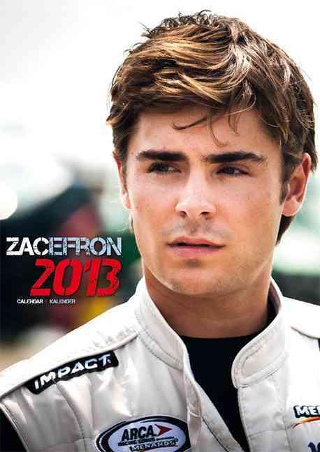 Zac Efron 2013 Calendar (Calendar)