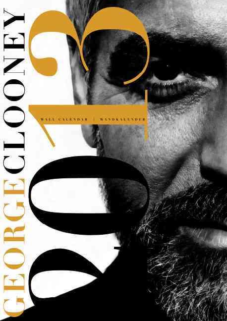 George Clooney 2013 Calendar (Calendar)