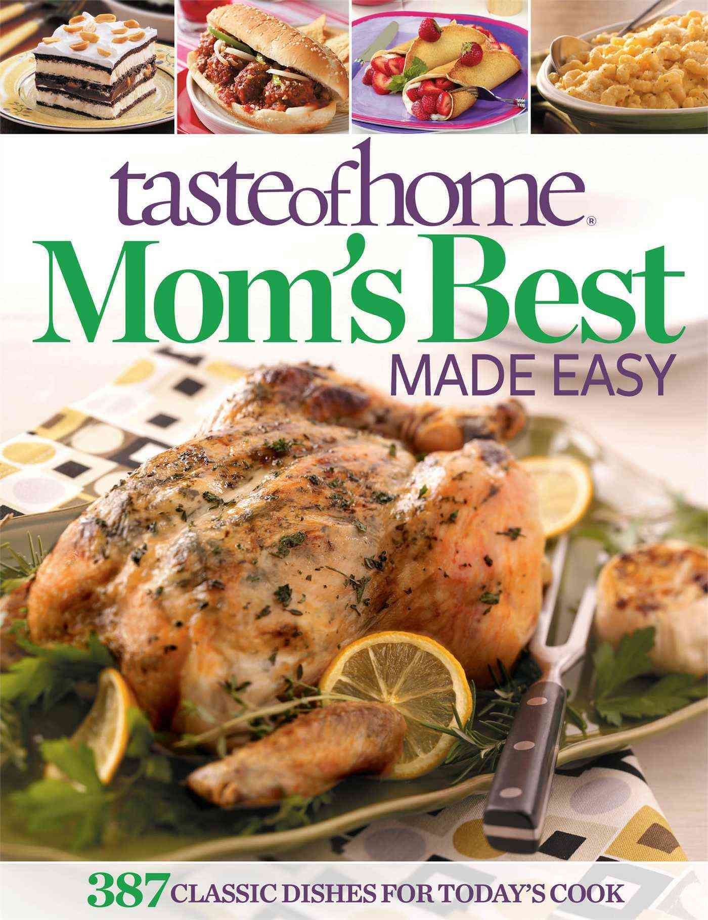 Taste of Home Mom's Best Made Easy (Paperback)