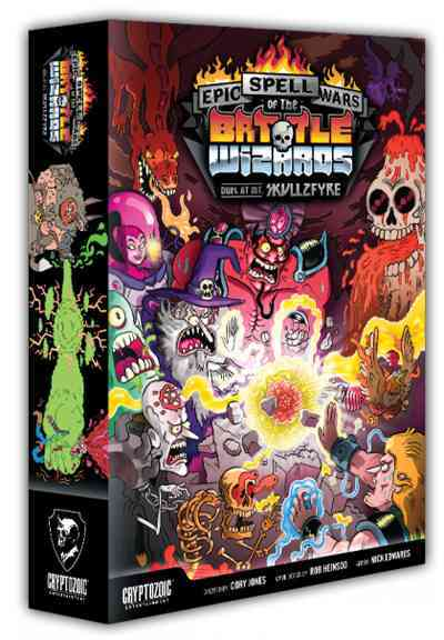 Epic Spell Wars of the Battle Wizards: Duel at Mt. Skullzfyre (Cards)