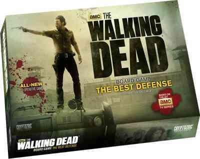 The Walking Dead the Best Defense Co-operative Board Game (Game) - Thumbnail 0