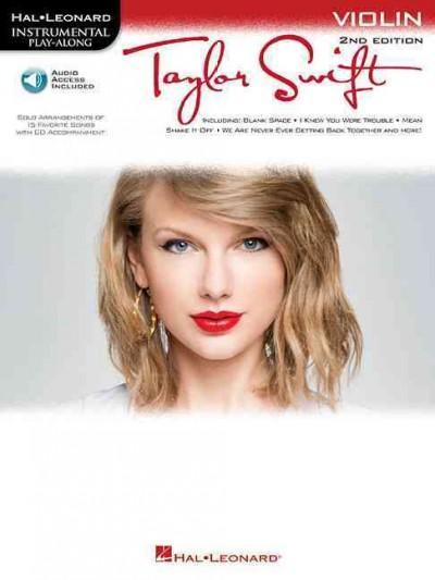 Taylor Swift: Instrumental Play Along for Violin