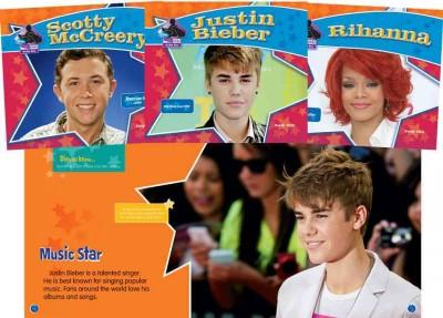 Big Buddy Biographies: Justin Timberlake, Scotty Mccreery, Jennifer Lopez, Rihanna, Bruno Mars, Justin Bieber (Hardcover)