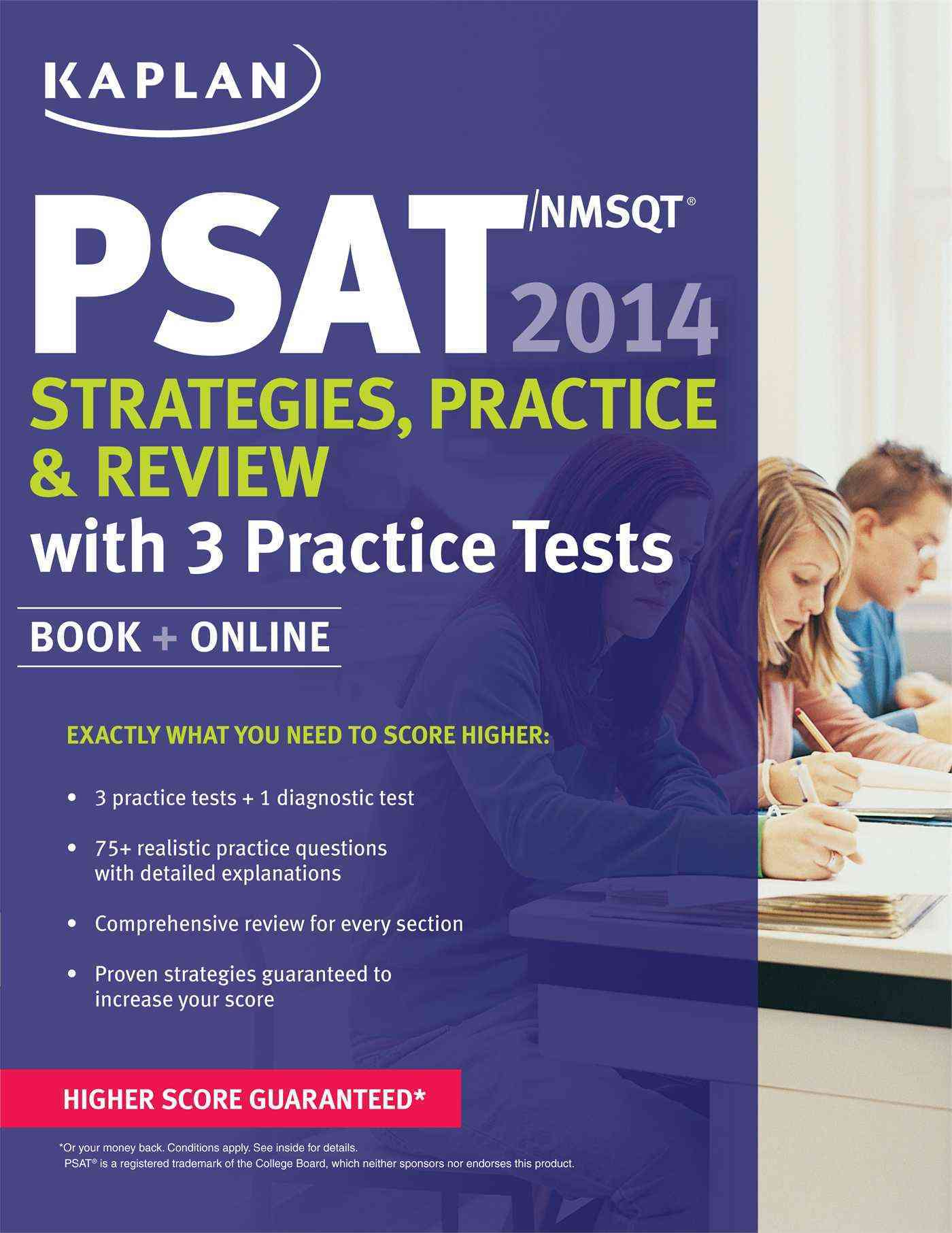Kaplan PSAT/NMSQT 2014: Strategies, Practice & Review: With 3 Practice Tests (Paperback)