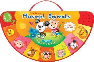 Musical Animals (Board book)