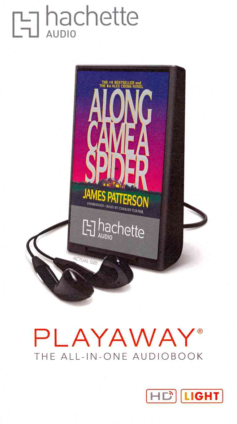 Along Came a Spider (Pre-recorded digital audio player)