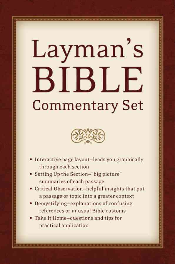 Layman's Bible Commentary Set (Paperback)