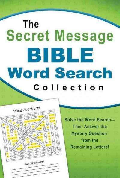 The Secret Message Bible Word Search Collection (Paperback)