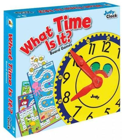 What Time Is It? Board Game, Grades K - 3 (Game)