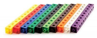 Thinking Kids' Math 100 Linking Cubes (Hardcover)