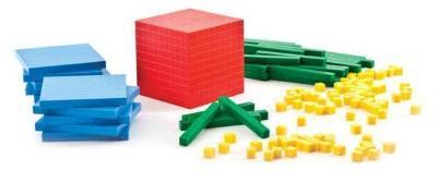 Thinking Kids Math: 161- Piece Base Ten Starter Set (Novelty book)