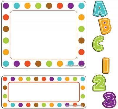 Calypso Stickers: 180 Letters and Numbers, 5 Large Labels, 12 Small Labels (Paperback)