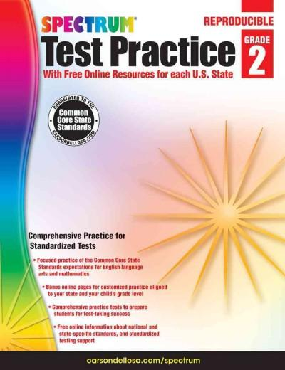 Spectrum Test Practice, Grade 2: With Free Online Resources for Each U.S. State (Paperback)