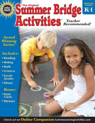 Summer Bridge Activities K-1 (Cards)