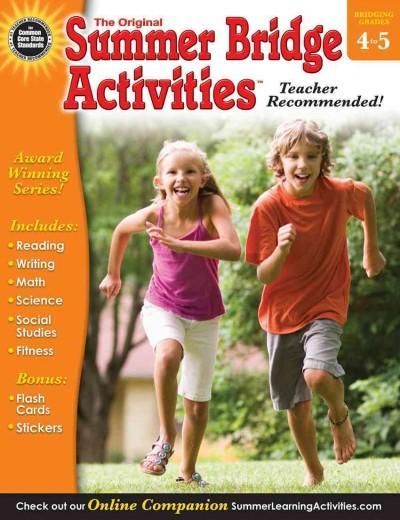 Summer Bridge Activities 4-5 (Paperback)