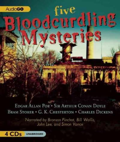 Five Bloodcurdling Mysteries (CD-Audio)