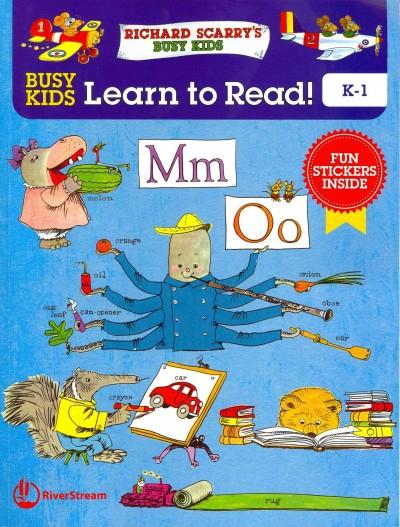 Busy Kids Learn to Read!: K-1 (Paperback)