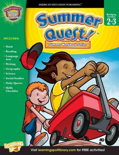 Summer Quest!: Bridging Grades 2 to 3 (Paperback)
