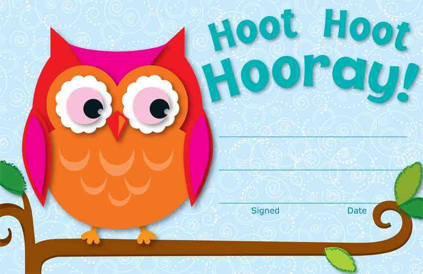 Hoot Hoot Hooray! Awards (Paperback)