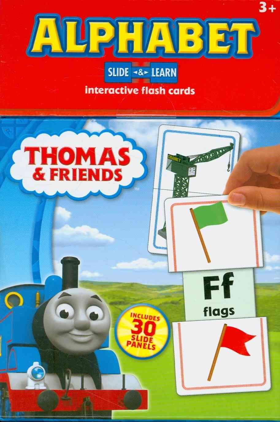 Thomas & Friends Alphabet Slide & Learn (Cards)