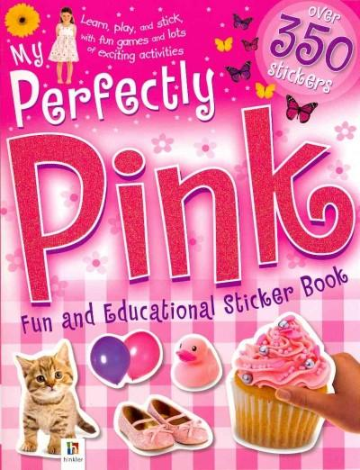 My Perfectly Pink Sticker Book (Paperback)