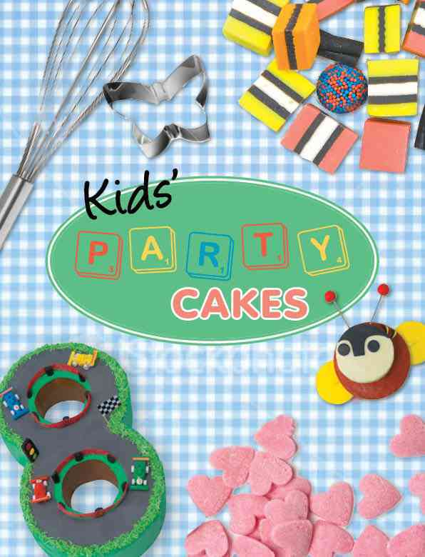 Kids' Party Cakes (Paperback) - Thumbnail 0