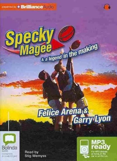 Specky Magee & a Legend in the Making (CD-Audio)