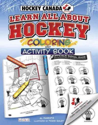 Learn All About Hockey Coloring and Acitivity Book (Paperback)