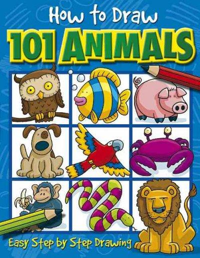 How to Draw 101 Animals (Paperback)