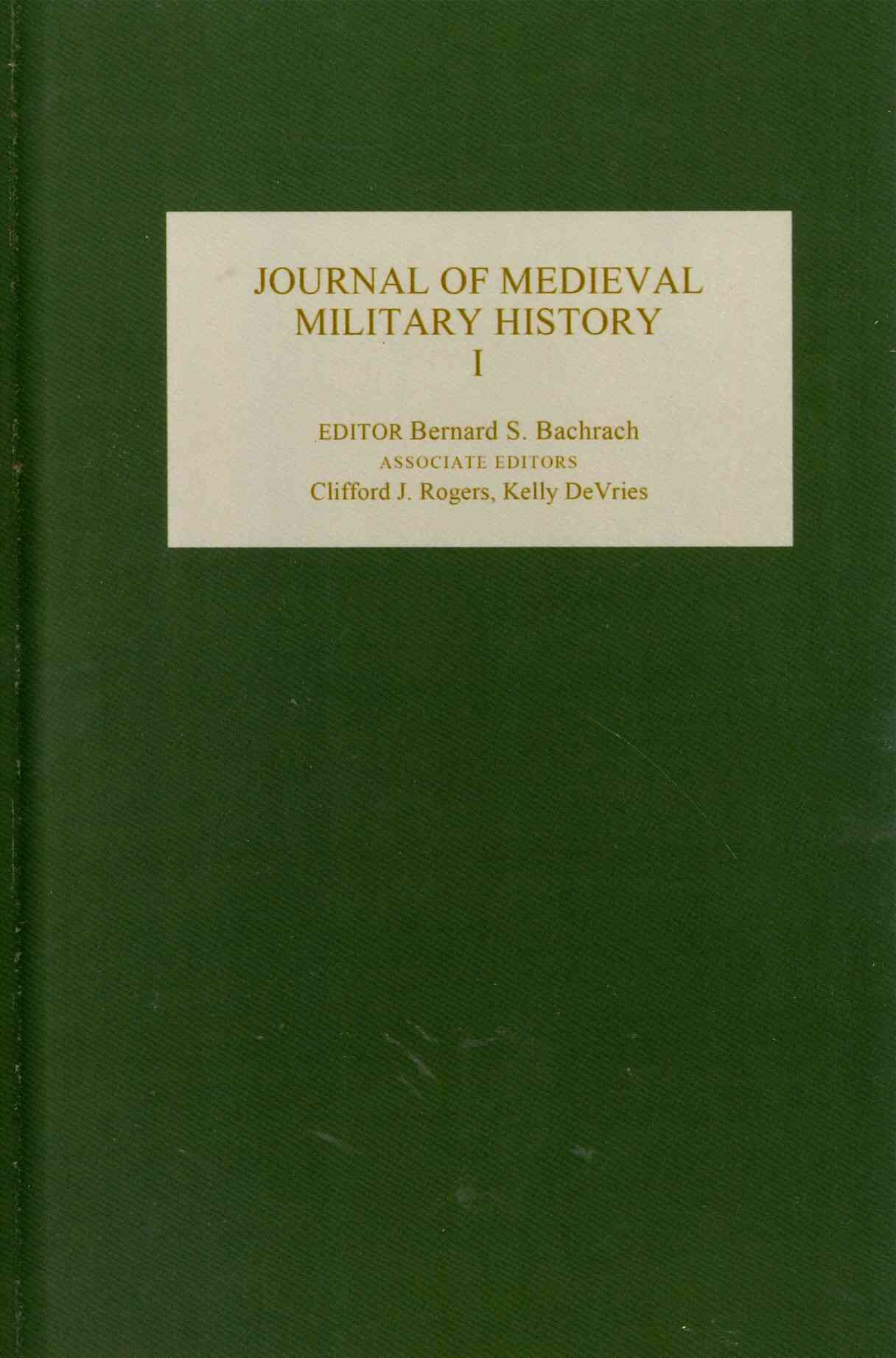 Journal of Medieval Military History (Hardcover)
