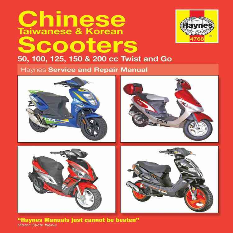 Chinese Taiwanese & Korean Scooters 50cc Thru 200cc, '04-'09: 50, 100, 125, 150 & 200 Cc Twist and Go (Paperback)