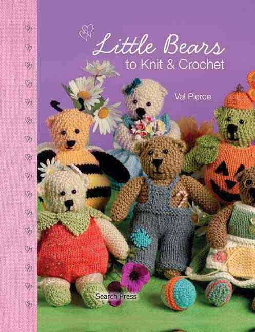 Little Bears to Knit & Crochet (Hardcover)