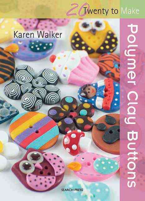 Polymer Clay Buttons (Paperback)