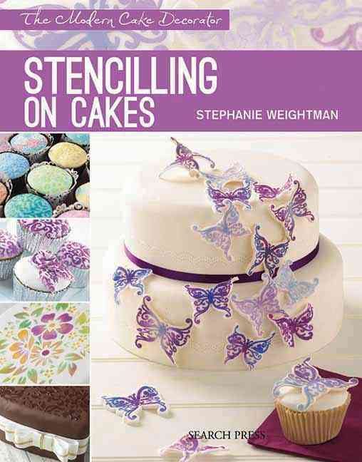 Stencilling on Cakes (Paperback)