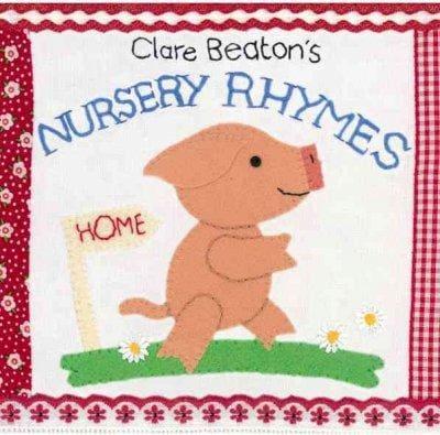 Clare Beaton's Nursery Rhymes (Board book)