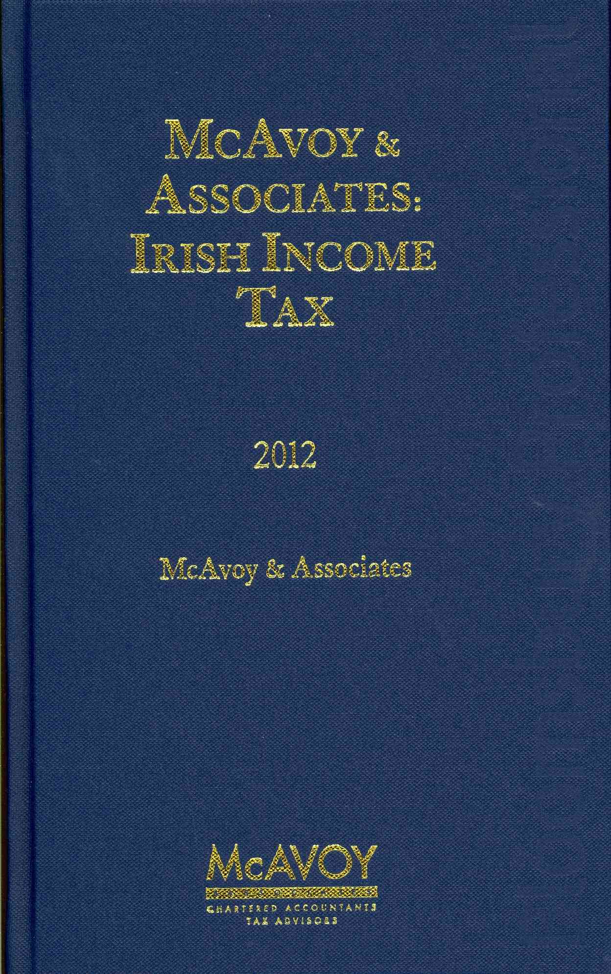 Irish Income Tax 2012 (Hardcover)