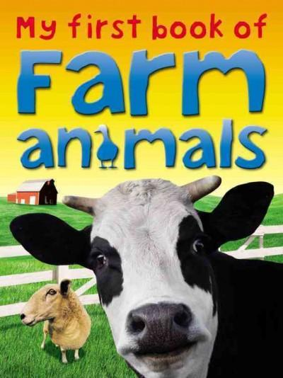 My First Book of Farm Animals (Paperback)