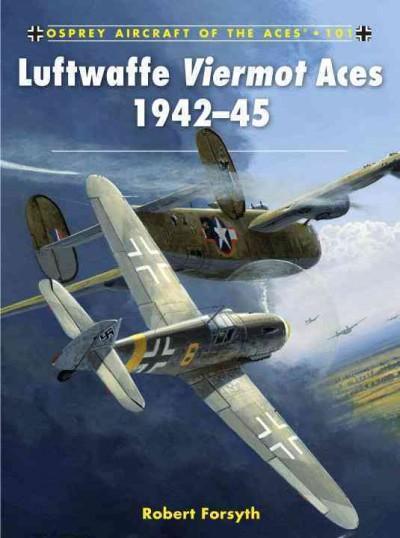 Luftwaffe Viermot Aces 1942-45 (Paperback)