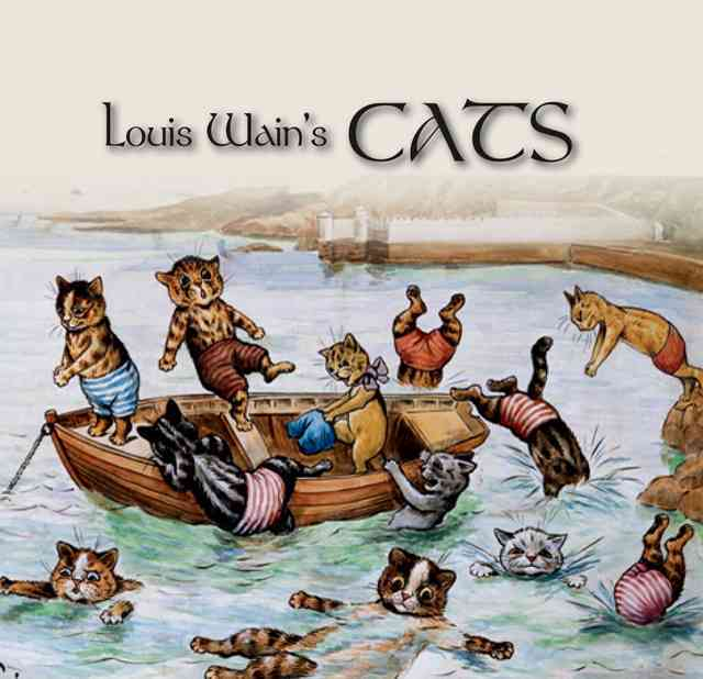 Louis Wain's Cats (Hardcover)