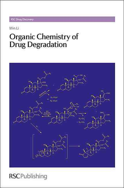Organic Chemistry of Drug Degradation (Hardcover) - Thumbnail 0