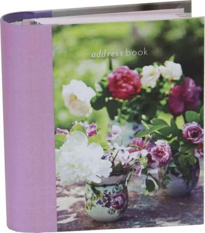 Peonies and Roses Mini Address Book (Address book)