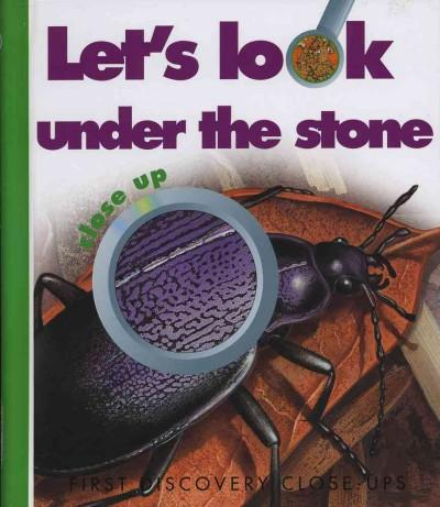 Let's Look Under the Stone (Hardcover)